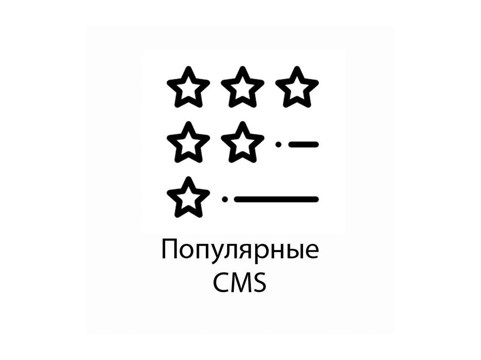 Рейтинг: самые популярные CMS в рунете и англоязычном