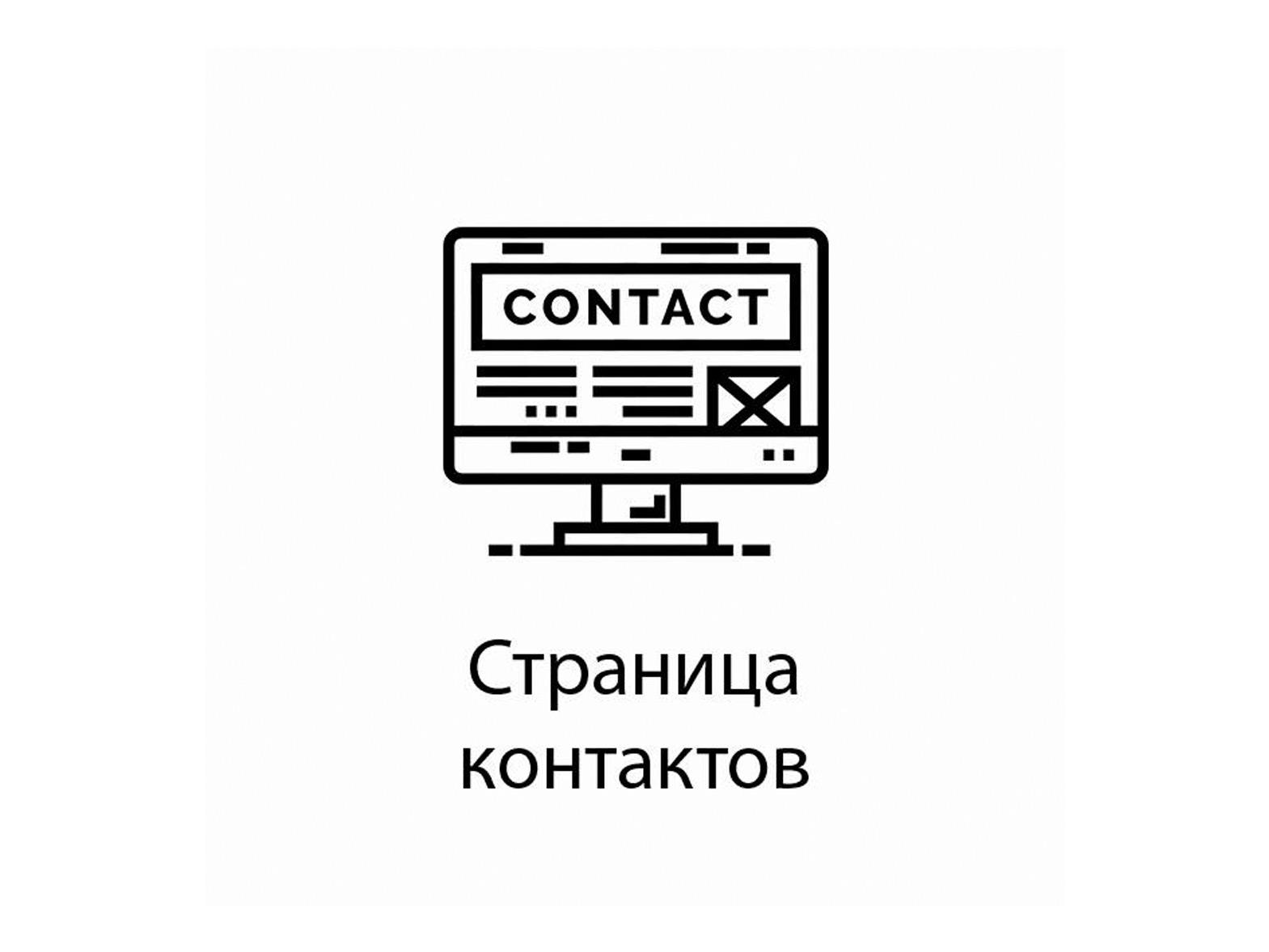 Адрес добавил, телефон в шапке указан. Что еще писать на странице контактов?